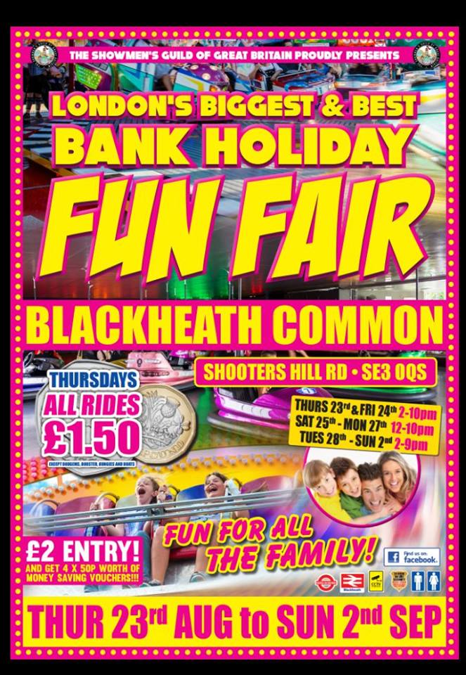 Blackheath Common Fun Fair 7
