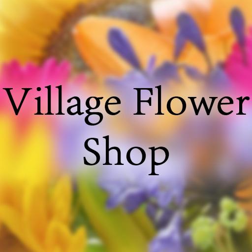 Village Flower shop Logo
