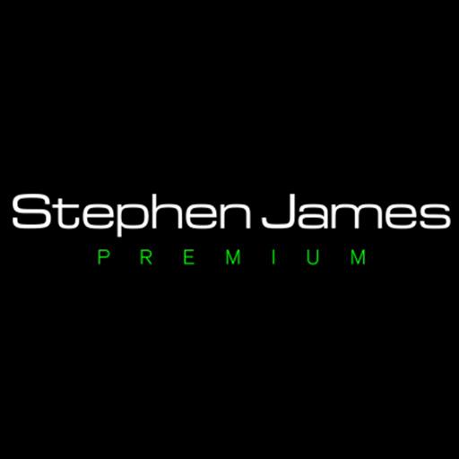 Stephen James Premium Logo