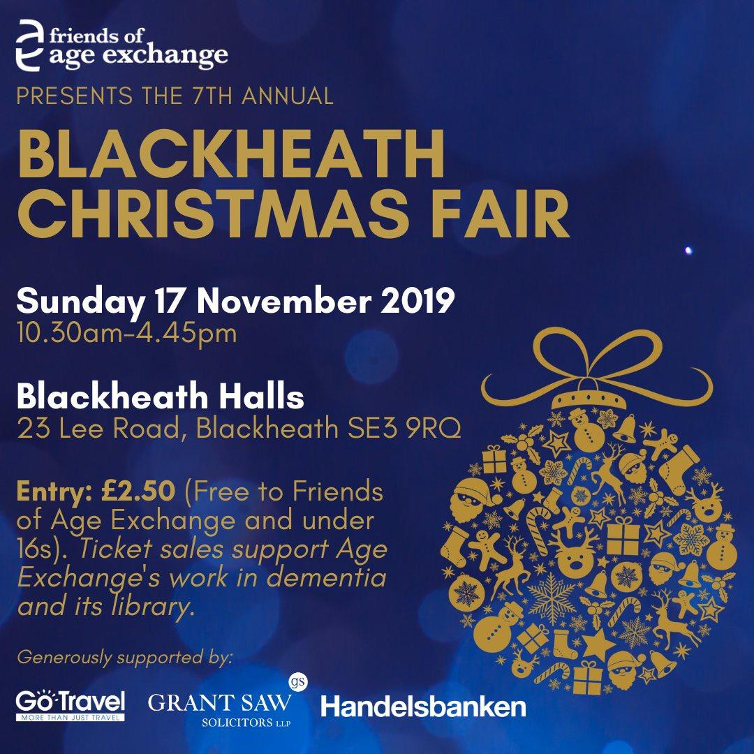 Age Exchange Blackheath Christmas Fair 7