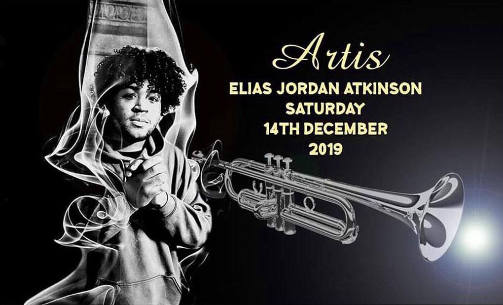 trumpeter Elias Jordan Atkinson at Artis 7