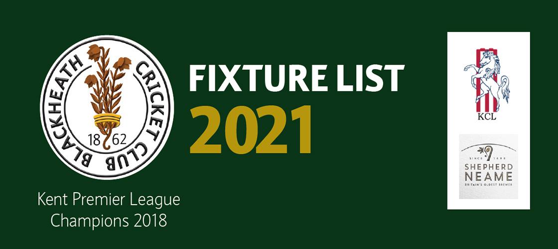 Kent Premier League 2021 - 1ST Xl Home Fixtures 7
